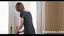 Cute Sis Fucks Her Way Out Of  trouble| Famxxx.com