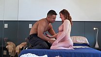 EMME WHITE SHOWS HOW TO HAVE PLEASURE DURING PREGNANCY WITH LOUPAN