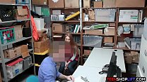 Busty teen thief busted and fucked by a security guard ◦ plus size ass thumbnail