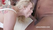 Barbarian Edition 6on1 Brittany Love total Ass destruction with Balls Deep Anal Image