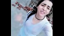 Kashmiri girl salma enjoy rain صورة