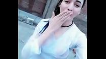 Kashmiri girl salma enjoy rain