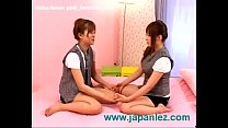 Crazy young japanese lesbian girls in bedroom » Fuck Pig thumbnail