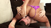 Gianna Nicole sits on his face Preview