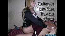 Sara Transexual Prepago Quito Culiando A Traves