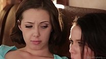 Jenna Sativa and Megan Rain - Freaked out lesbian girlfriends صورة