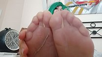 Does it excite you if I touch your penis with my feet?
