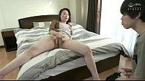 Japanese m. finds her boy masturbating
