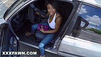 XXX PAWN - Young, Busty Ebony Babe Brittney White Tries To Pawn Her Hooptie Image