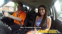 Fake Driving School Posh cheating wife with great tits has loud orgasms thumbnail