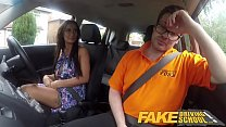 Fake Driving School Posh cheating wife with great tits has loud orgasms Preview