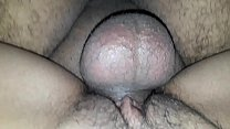wife sitting on her husband's dick to the stalk
