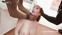 Loan Sharks #1! Lauren Phillips pays her debt with 2on1 Balls Deep Anal, DAP, Gapes, Facial GIO980