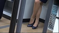 CANDID SHOEPLAY HOSTESS AIRPORT 77