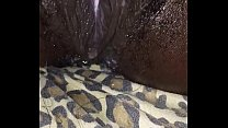 My chocolate wife squirts heavy