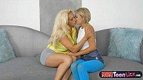 Friends mom teaches innocent teen hot lesbian tricks Vorschaubild