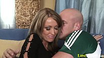 Old mommy Kristina Ross gets penetrated and cov...