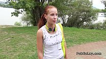 phoenix marie nude ◦ Amateur teen threesome fucking by the river thumbnail