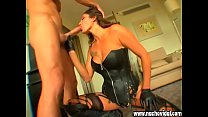 Nacho Vidal Room 666 Scene 6 Claudia Di Coppo gets cum on her mouth and the feeling of semen is nice