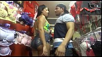 sexy black woman decides to attack the big seller stick. Rubens Badaro