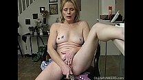 Image: Mature amateur has an orgasm