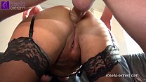 6825 Submissive slut hard Ass fucked by a brutal men horde, including extreme filling with sperm and piss! preview