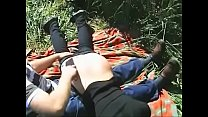 Clip 012An - Anni Spanked Outdoors - Full Version Sale: $4