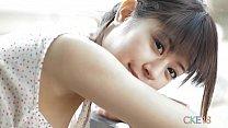 Sweet Japanese teen cameltoe touching and teasi...