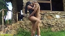 brutal african outdoor fetish fucking