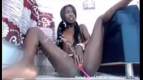 Cute Black Teen Squirts Hard in Cam Show - xxxcamgirls.live
