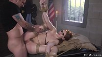 Prisoner grab and fuck tied up paralegal thumbnail