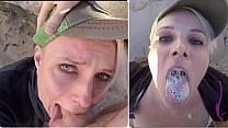 Public Cum Swallow After Balls Deep Deepthroat ...