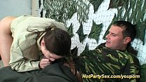 military gangbang bukkake orgy Vorschaubild