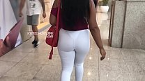 Kriss Hotwife Going to Workout In Sheer Pants To Drive Males Crazy In The Gym