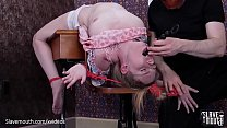 Hot blond gets puke fuck and rimjob lessons at the Slavemouth schoolhouse tumblr xxx video