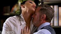 Sexy Latina Secretary Vicki Chase Gets Fucked By Her Boss - Wicked