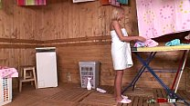 two girls pissing