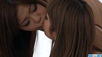 Sweet Nao enjoys cock sharing along her best friend