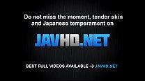 Sweetie Asian blowjob before a wild fuck Mikuru Shiina  - More at javhd.net thumbnail