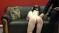 Extreme amateur spanking and whipped ass punishment of english teen slavegirl