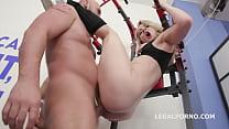 7on1 DAP Gangbang with Slut Lisey Sweet Balls Deep Anal