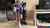 15256 Stepmom gets stuck while sneaking out and fucks stepson to get free - Erin Electra preview