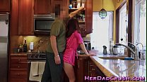 Little teen stepdaughter