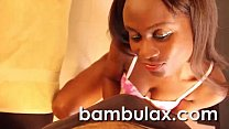 Real african ebony whore blowjob cum in mouth!