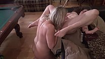 Hot amateur lesbian MILFs licking and fingering wet cunts