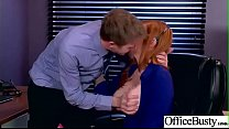 Sex In Office With Big Round Tits Girl (Lauren Phillips) video-20