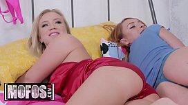 (Bailey Brooke, Xeena Mae)  - Cuddling Coochies - MOFOS
