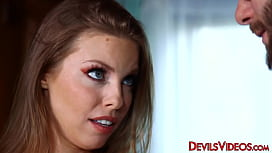 Stunning lass Britney Amber c. on big dick and does anal