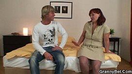 Porn man woman home talking