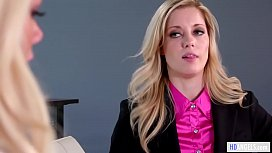 Lesbian Job Interview - Charlotte Stokely and Elsa Jean